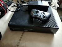 Xbox one 500g and 1 controller