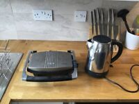 Kettle and sandwich toaster