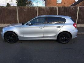 Silver BMW 116i Very low Mileage