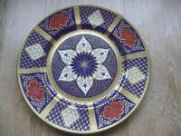 2 x Caverswall Romany Imari Large Plates