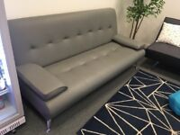 Free sofa bed - must be collected by lunch time