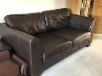 Divan chocolate 4 piece sofa set