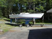 25' Kirby Sailboat/ trailer......aSerious Inquir