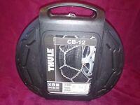 Thule 12mm CB12 095 passenger car snow chains