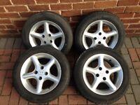 Mazda MX5 alloy wheels