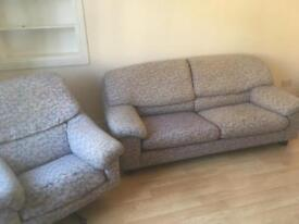 Sofa and chair free to uplift