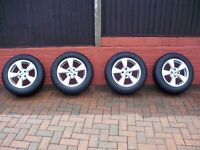 Renault Megane Scenic alloy wheels with WINTER tyres