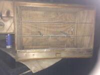 Finch/budgie breeding cage