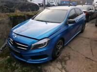 Mercedes A200 AMG Damaged Salvage Repairable