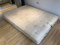 Hypnos Churchill Orthos Wool Pocket 1200 Spring Mattress King size (5 ft) from guest bedroom