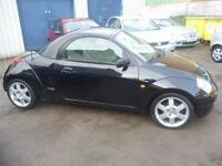 Stunning Ford STREETKA Winter Ltd Edition,Hard top Convertible,full cream leather interior,only 51k