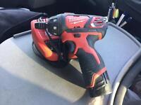 Milwaukee 12volt lithium compact screw gun