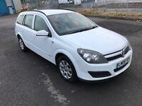 2006 Vauxhall Astra 1.4 16v estate dual fuel lpg long mot nice clean car cd alloys a/c cheap to run