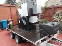 Mobile ABP incinerator