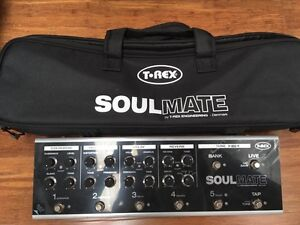 Used T-Rex Effects Soulmate - with Box and Softcase Moorooka Brisbane South West Preview