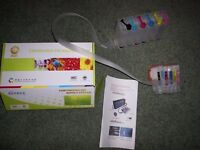printer potty and CISS kit FOR Epson xp-950 printers and 6 inks all brand new