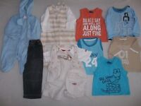 Boys bundle aged 6-9 months and 9-12 months