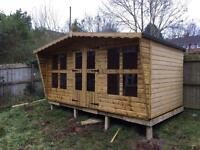 14x8 tanalized summer house t&g.sale price