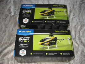 2 x Horizon Blade 200 SR X srx ( Job Lot ) RC Helicopters and Transmitters / RTR