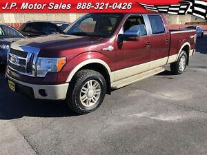 2010 Ford F-150 King Ranch, Crew Cab, Automatic, Navigation, Lea