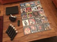 PS3 Slim 500Gb + 27 Games + 2 controllers + 5 Ps Moves + Camera