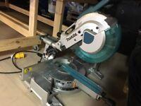 Makita 1210LS 110v sliding compound mitre chop saw
