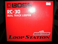 Boss RC-30 Dual track looper loop station boxed excellent condition