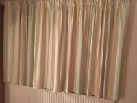 A pair of Laura Ashley lined curtains
