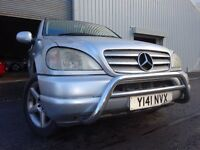 💥01 MERCEDES 270 CDI ML DIESEL AUTOMATIC 4X4,MOT JAN 017,PART HISTORY,LOVELY EXAMPLE,VERY RELIABLE