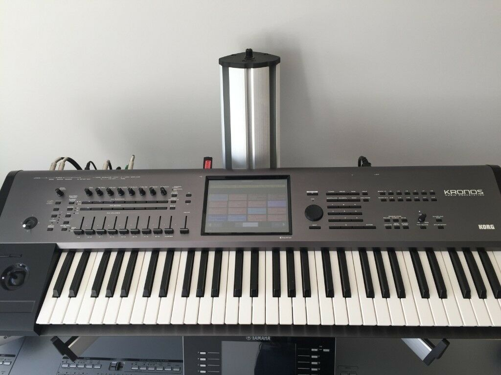 Korg Kronos 61 keys upgraded by Korg UK to Kronos X 61 keys with additional  30GB SSD and 1GB DIMM | in Burgess Hill, West Sussex | Gumtree