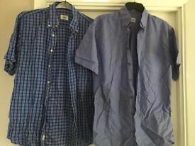 3x Lacoste shirts size medium