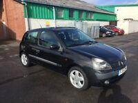 Renault Clio 1.2 Dynamique, Part Ex to clear
