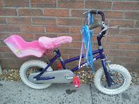 Girls Carmargue First Bike Bicycle