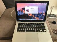 """MacBook Pro 13"""" inch 2.4GHz Intel Core 2 Duo, 6GB RAM, 1TB HD, OSX Sierra"""