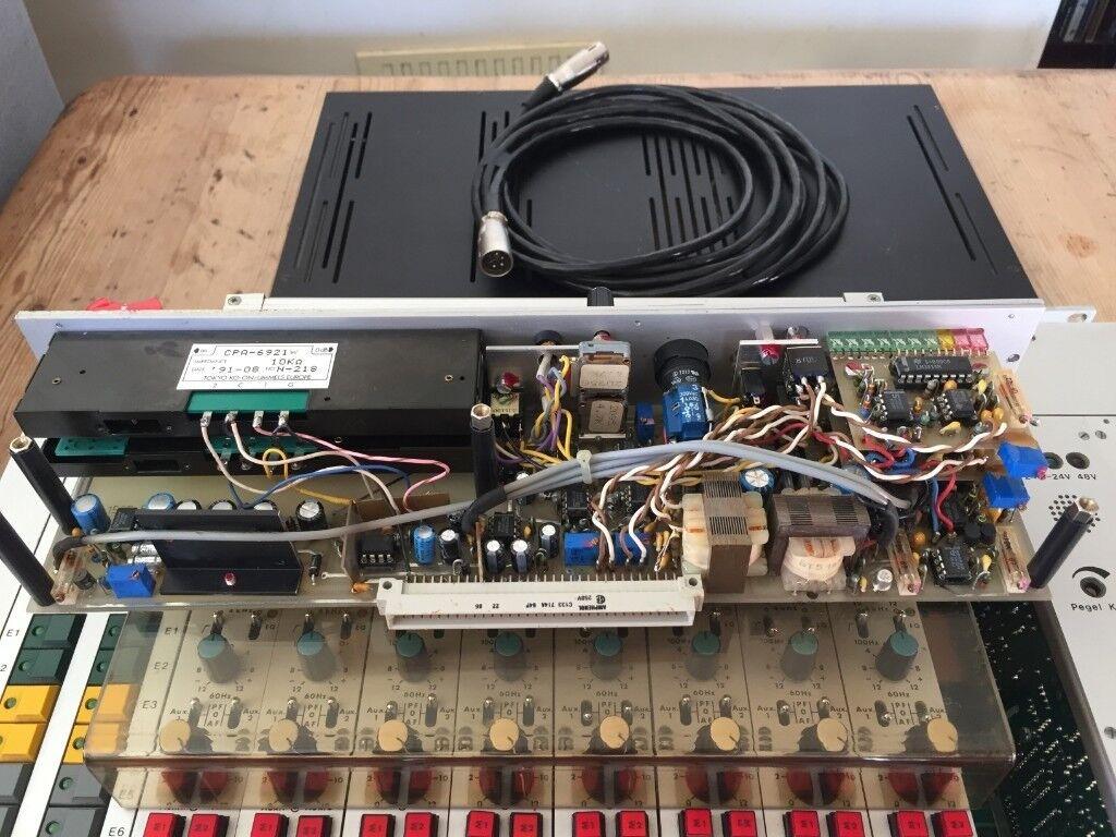 Semrau Eb 068 Rare German Broadcast Modular Mixer Studer Neumann Wiring Jobs London Sound