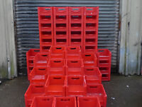 BITO RED STACKABLE STORAGE BINS PICKING BOXES JOBLOT'S OF 5,10,50 OR 100 BOX SALES