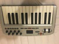 Oxygen 8V2 MIDI Controller