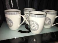 6 versace mugs