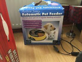 Cat timer cat feeder