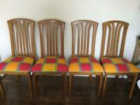 Four great looking chairs.