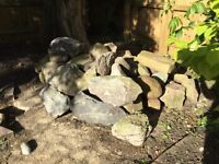 Garden Rocks Rockery