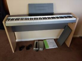 Casio Privia PX-120 Digital Piano with Stand CS-65P and Pedal SP-3