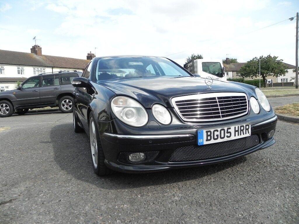 Black E320 Cdi Amg (Automatic Diesel) black leather Bargain px  530d,520d,w211,a6,a4,lexus | in Tilbury, Essex | Gumtree
