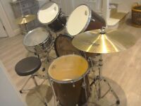 Used drumkit perfect for beginners