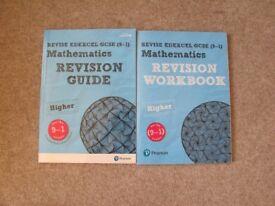 Pearson NEW GCSE AQA Mathematics BUNDLE Revision Guide & Revision Workbook