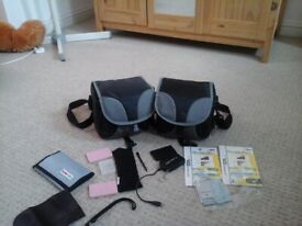 Handheld consoles cases x2 plus a few DS accessories