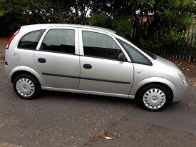 Vauxhall Meriva service history 2 keys low miles