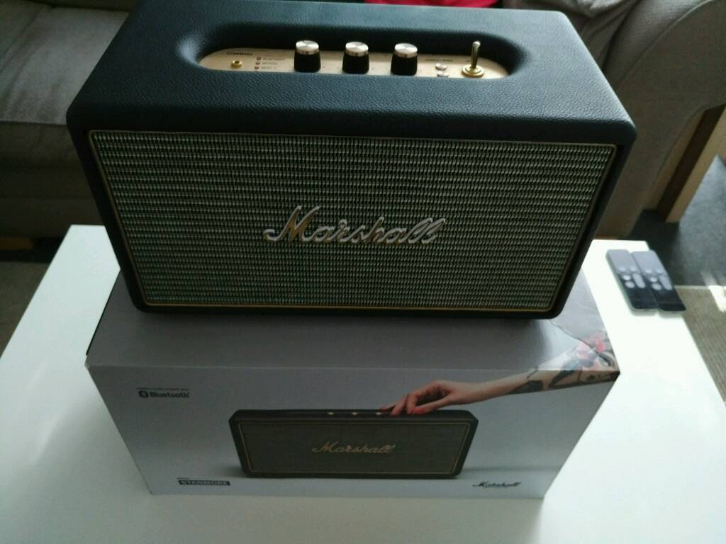 ** REDUCED ** Marshall Stanmore Bluetooth Speaker. Immaculate.