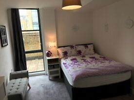 Clean, cosy 1-bed riverside apartment to let