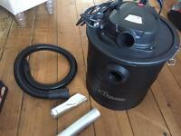 Hausen 1200W Cylinder 20L Fireplace Ash Vacuum